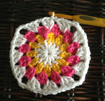 Sunburst Granny Square ~ The Stitchin' Mommy