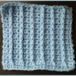Single Crochet Raised Rib Stitch by Heather's Crochet Blog