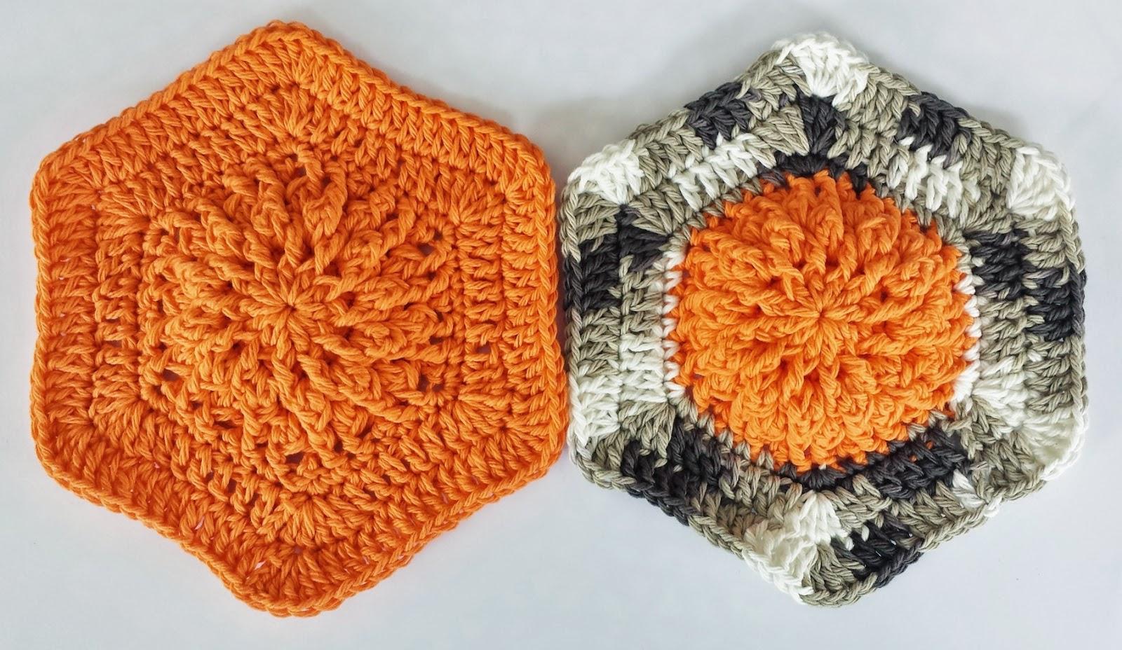 Fall Burst Dishcloth by DragonFlyMomof2 Designs