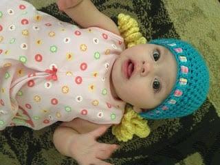 "Baby ""Hair"" Hat ""Golden Locks"" by MandaLynn's Crochet Treasures"