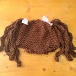 "Baby ""Hair"" Hat ""Crimply Pig Tails"" by Manda Proell of MandaLynn's Crochet Treasures"