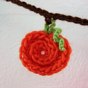 Mini Pumpkin or Apple Bunting by Mr. Micawber's Recipe for Happiness