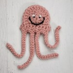 J is for Jellyfish: Crochet Jellyfish Applique ~ Repeat Crafter Me