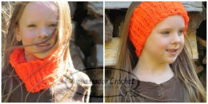 Kid's Neck Cozy & Headband by Ambassador Crochet