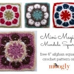 Mini Magic Mandala Square by Moogly