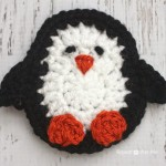 P is for Penguin: Crochet Penguin Applique ~ Repeat Crafter