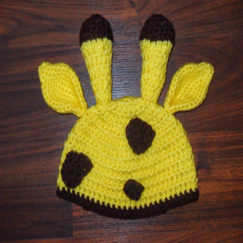Free Crochet Pattern Giraffe Hat : Cozy Giraffe Hat ~ FREE Crochet Pattern