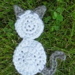 Aizen the Kitty Applique ~ Manda Proell - MandaLynn's Crochet Treasures
