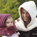 Hooded Crochet Cowl by Repeat Crafter Me