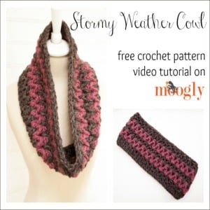 Story Weather Cowl Tutorial ~ FREE Crochet Pattern Tutorial