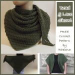 Bead and Lace Shawl by CrochetN'Crafts