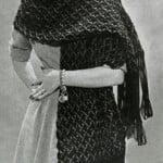 Crocheted Stole ~ Free Vintage Crochet