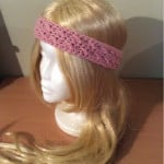 How to Crochet a Cross Stitch Headband ~ Hooking Is A Lifestyle