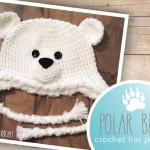 Polar Bear Hat ~ Rebecca Langford - Little Monkeys Crochet