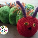 Munching Caterpillar Hand Puppet ~ Snappy Tots