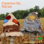 Chameleon Hat - Patches ~ Pattern Paradise