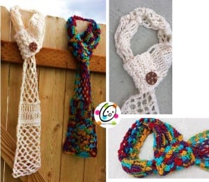 Sunday Mornings Scarf by Snappy Tots