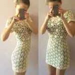 White Lace Dress by Jane Green of Beautiful Crochet Stuff