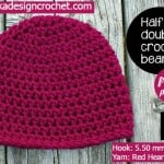 Half Double Crochet Basic Beanie ~ Oombawka Design