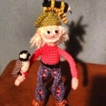Gene Gnome by Tina Le Page of Mad Crochet Lab