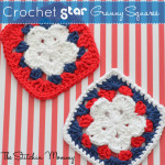 Crochet Star Granny Square ~ The Stitchin' Mommy