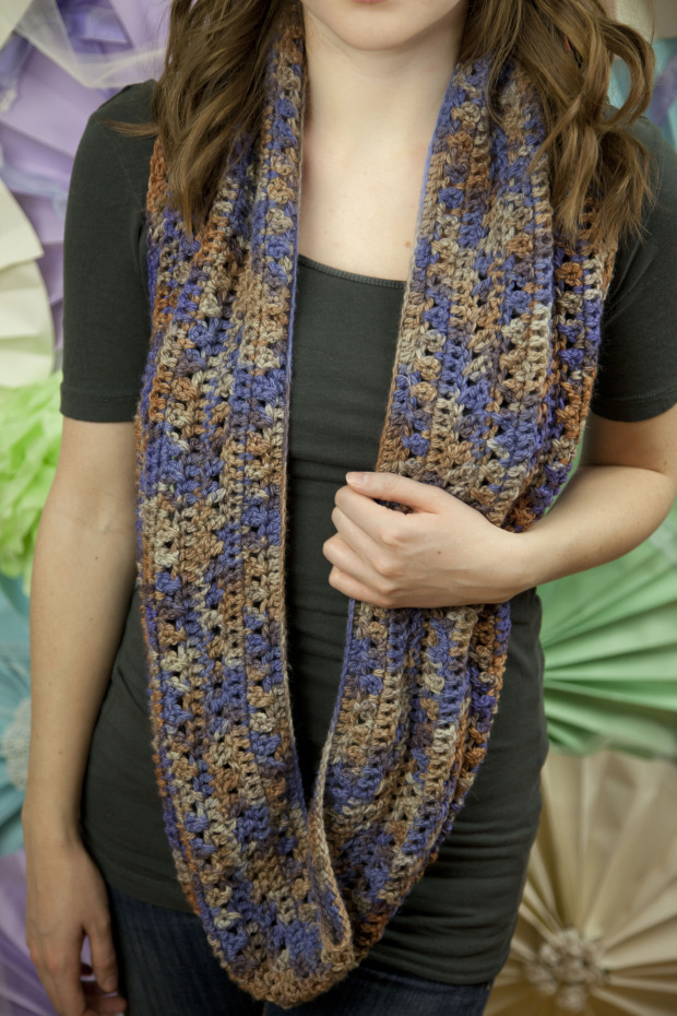 Cross Stitch Scarf by grannysquaredontcare