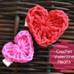 Valentine's Day Crochet Heart ~ The Stitchin' Mommy