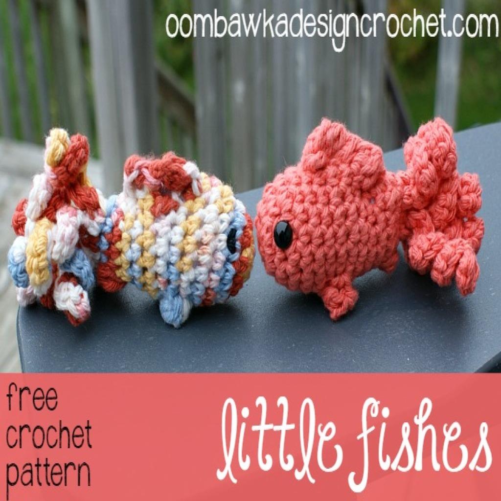Amigurumi Crochet Fish Pattern : Little Amigurumi Fish ~ FREE Crochet Pattern
