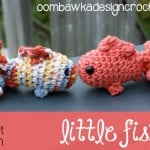 Little Amigurumi Fish ~ Oombawka Design