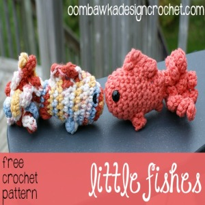 Little Amigurumi Fish ~ FREE Crochet Pattern