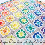 Magic Rainbow Baby Blanket ~ Moogly