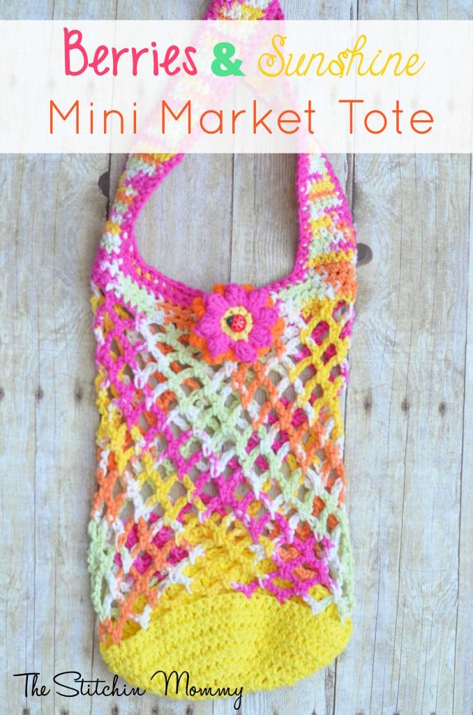 Mini Market Tote ~ The Stitchin' Mommy