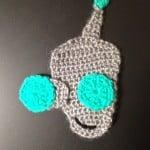 Crochet Kooky Robot Applique ~ Manda Proell – MandaLynn's Crochet Treasures