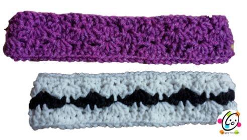 A Mustache Crochet Headband ~ Snappy Tots