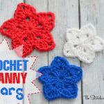 Crochet Granny Star ~ The Stitchin' Mommy