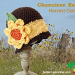 Chameleon Hat – Harvest Gold ~ Pattern Paradise