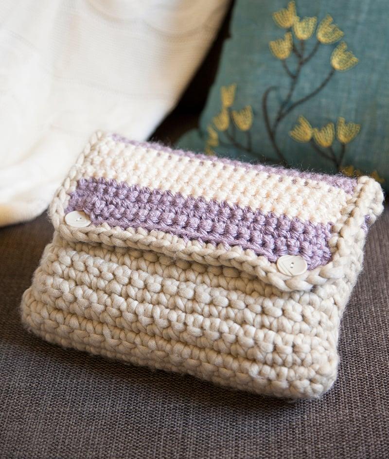 Crocheted Case by grannysquaredontcare