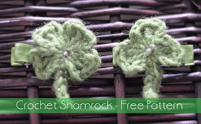 Crochet Shamrock ~ The Stitchin' Mommy