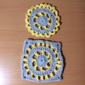 How To Crochet A Motif Then Turn Into A Square by Hooking is a Lifestyle