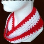 Sparkly Cowl ~ Patterns For Crochet