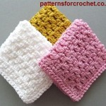 Simple Dishcloth ~ Patterns For Crochet