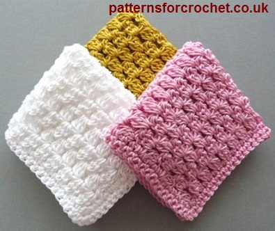 Simple Dishcloth Free Crochet Pattern