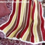 Lapghan by Patterns For Crochet