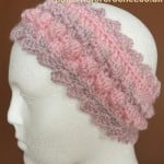Bobble Headband by Patterns For Crochet