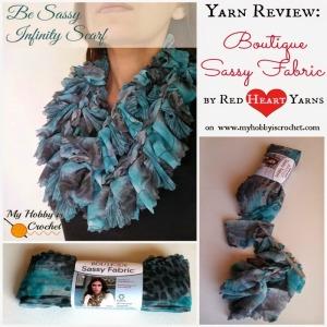 Crochet Flower Headband Crochet Pattern - Red Heart Yarn