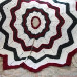 Christmas Tree Skirt ~ SmoothFox Crochet and Knit