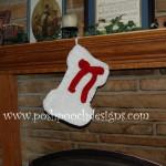 Dog Bone Shaped Christmas Stocking ~ Sara Sach – Posh Pooch Designs