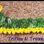 Friendly Caterpillar Applique ~ Tera Kulling – Trifles N Treasures