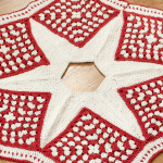 Crochet Christmas Tree Skirt Pattern — Part 2: The Star ~ Petals to Picots