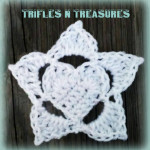 Frozen Hearts – Part 2 – Large Snowflake Applique ~ Tera Kulling – Trifles N Treasures